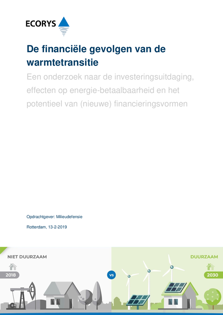 Voorbeeld van de eerste pagina van publicatie 'Onderzoek: 15 procent huiseigenaren kan niet lenen bij de bank voor energietransitie'