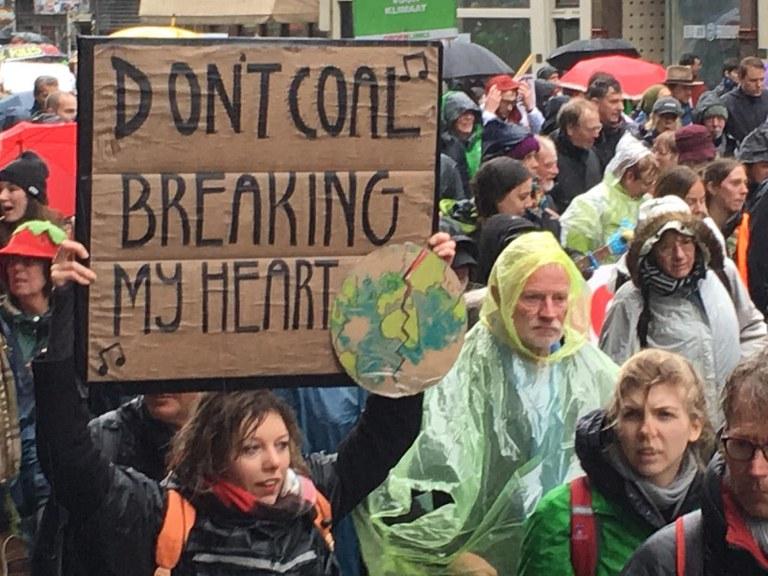 Heartbreaking Klimaatmars