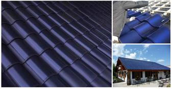 Zonnepanelen in de vorm van dakpannen
