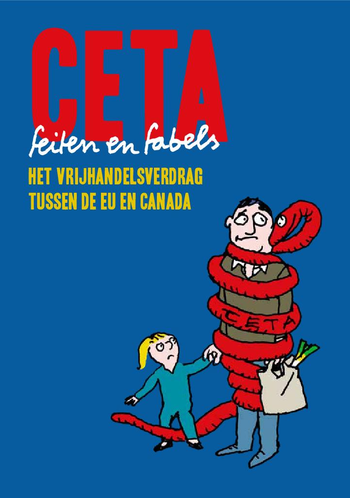 Voorbeeld van de eerste pagina van publicatie 'Feiten en fabels over CETA'