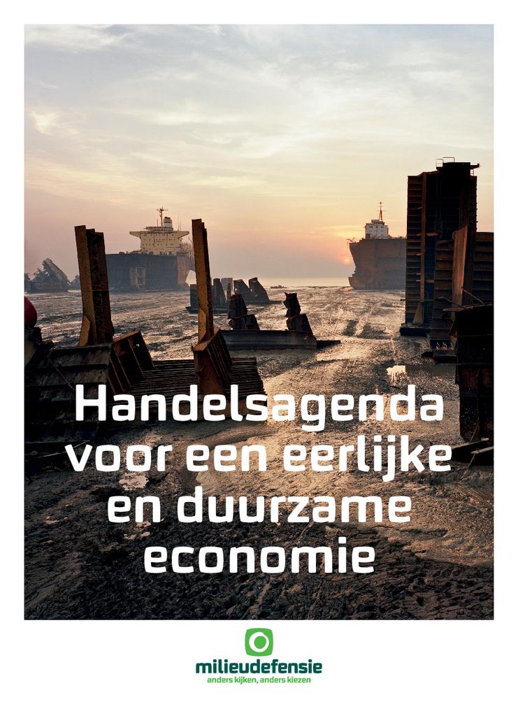 Voorbeeld van de eerste pagina van publicatie 'Handelsagenda voor een eerlijke en duurzame economie'