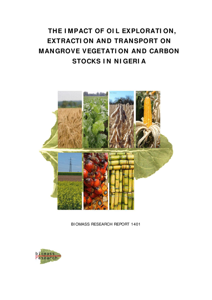 Voorbeeld van de eerste pagina van publicatie 'Impact of the oil industry on mangrove vegetation and carbon stocks in Nigeria'
