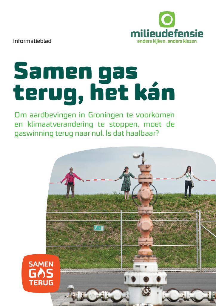 Voorbeeld van de eerste pagina van publicatie 'Informatieblad Groningen gasvrij in 2030'