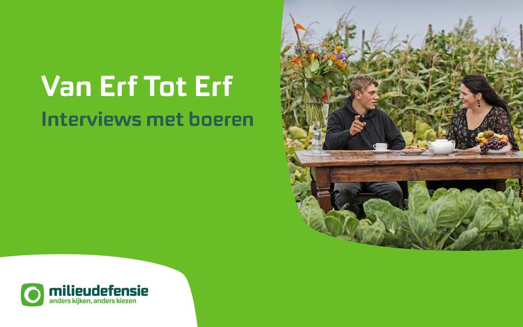 Voorbeeld van de eerste pagina van publicatie 'Van Erf tot Erf - Interviews met boeren'