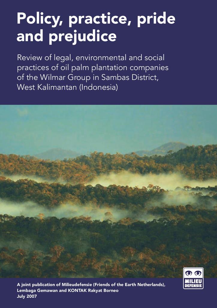 Voorbeeld van de eerste pagina van publicatie 'Policy, practice, pride and prejudice'