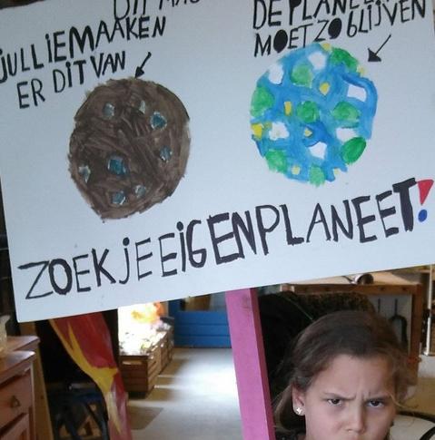 Eigen planeet Klimaatmars