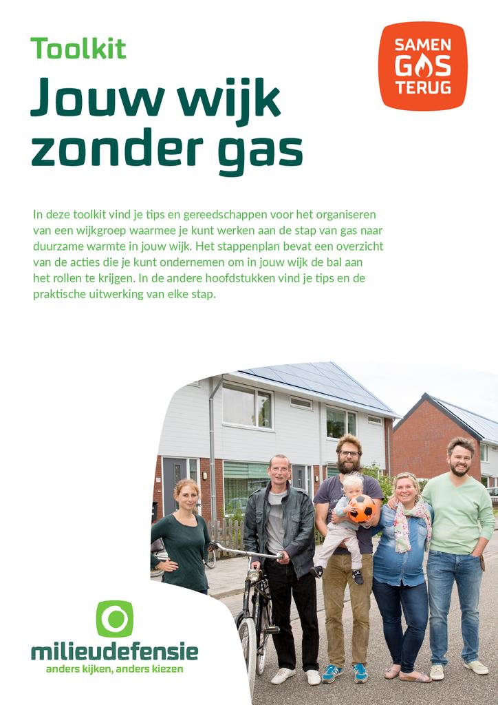 Voorbeeld van de eerste pagina van publicatie 'Jouw wijk zonder gas Toolkit'
