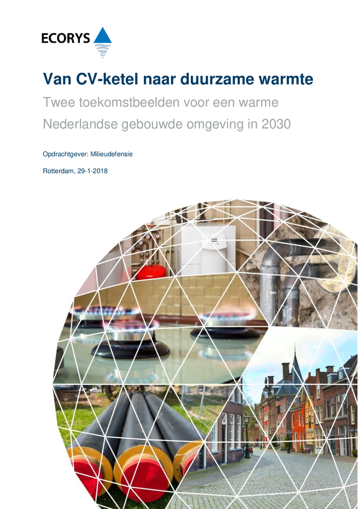 Voorbeeld van de eerste pagina van publicatie 'Van CV-ketel naar duurzame warmte'