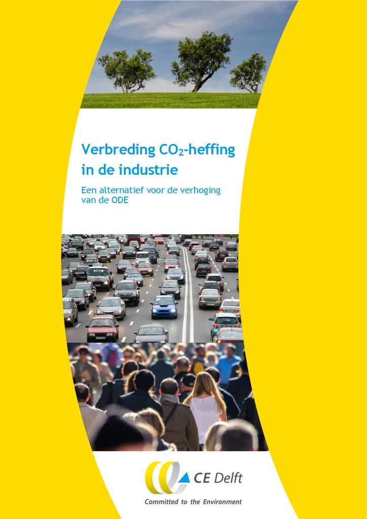 Voorbeeld van de eerste pagina van publicatie 'Verbreding CO2-heffing in de industrie'