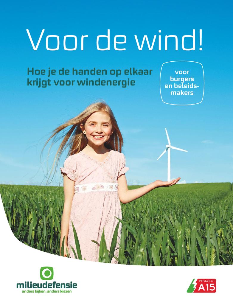 Voorbeeld van de eerste pagina van publicatie 'Voor de Wind'