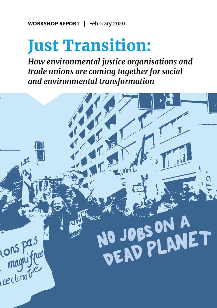 Voorbeeld van de eerste pagina van publicatie 'Rapport: Eerlijk omschakelen naar groene energie'