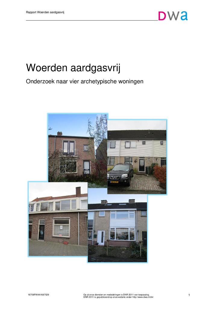 Voorbeeld van de eerste pagina van publicatie 'Woerden aardgasvrij'