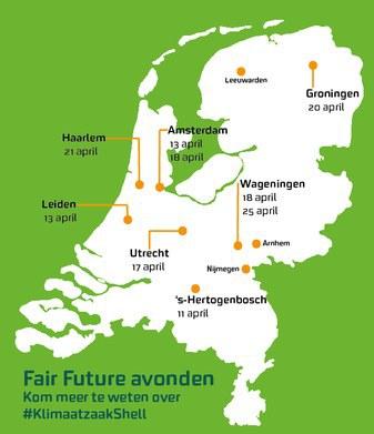 Fair Future Meet-ups kaartje