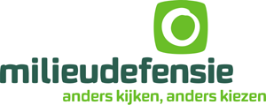 logo Milieudefensie speels
